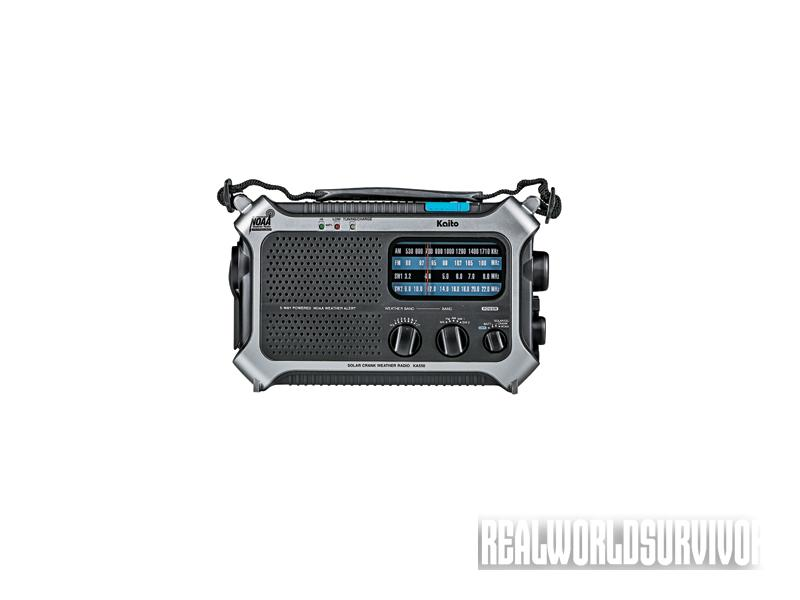 crank-powered, crank-powered devices, crank-powered lifesavers, Kaito KA550 Multiband Radio