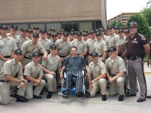 Oklahoma Highway Patrol Trooper Gary Sanders