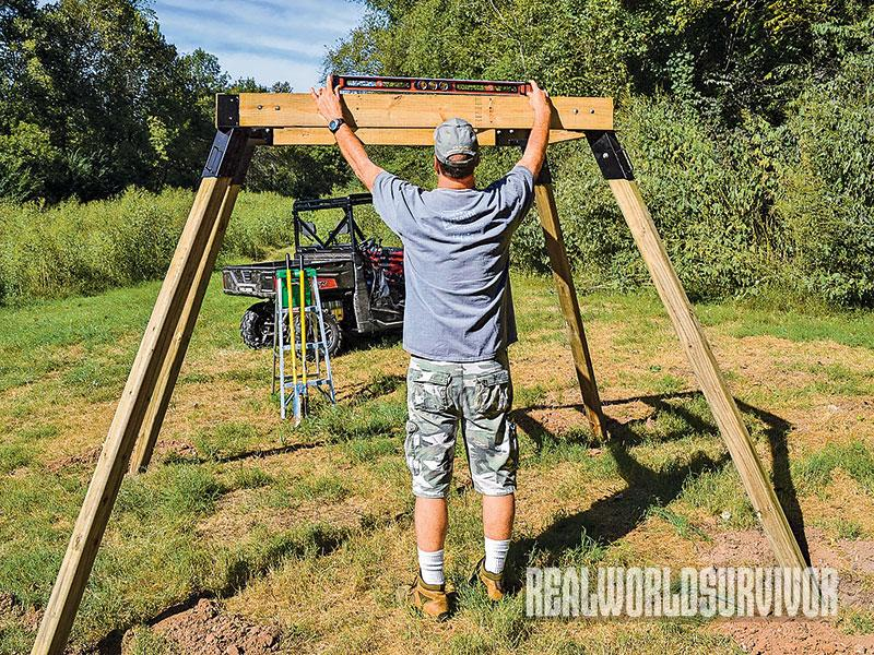Build Your Own Buck Tower and Hunt With a Friend