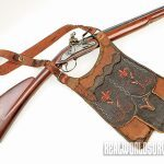 Shooting bag and Fusil de Chasse made by Shawn Webster.