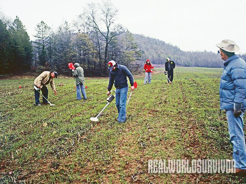 In 1978, treasure hunters got permission to use metal detectors on Alabama land, where they found many Native American artifacts.