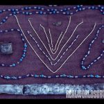 Native Americans were also known for their handy beadwork shown here.