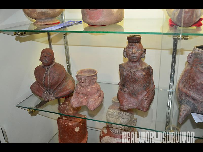 Native American artifacts like these date back thousands of years and are being preserved today.