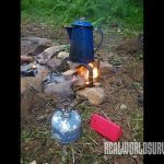 You can bring a stove or make your own fire while camping.
