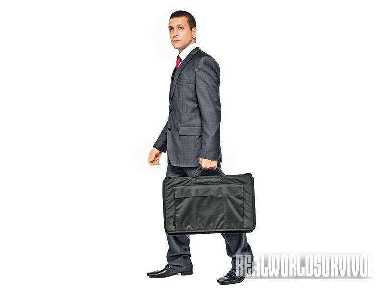 The Ballistic Briefcase can be perfect for workplace threats.