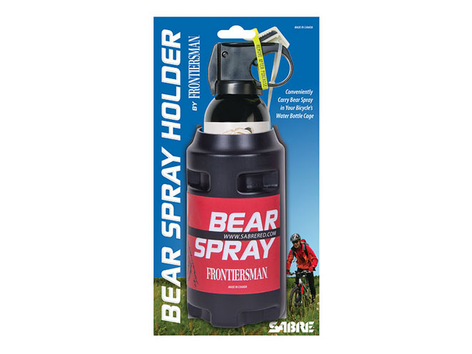 Bear Protection With Frontiersman Bear Spray: Frontiersman Bear Spray Holster