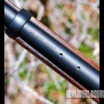 The Skinner Trapper has two threaded mounting holes.