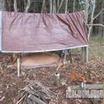 Include a brown tarp in your tool kit.