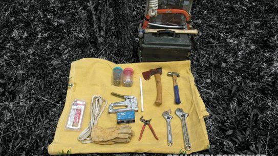 Consider including pliers, gloves and rope in your tool kit.