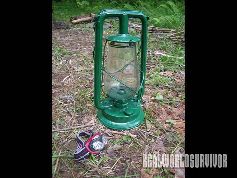 Bring a lantern and headlight on your camping trips.
