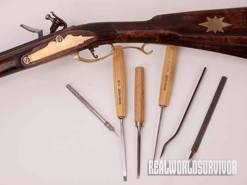 Make your own flintlock longrifle with just a few tools.