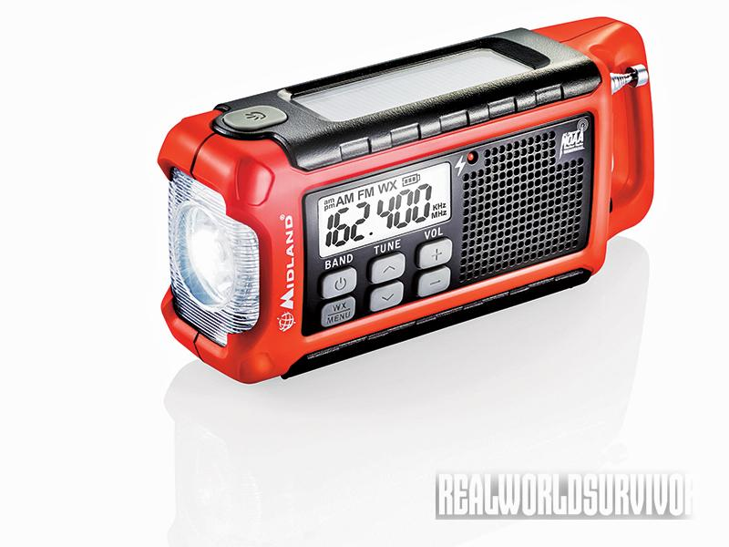 Emergency radios are get to have on hand in case of disasters like cyclones.
