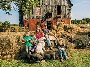 New Pioneer fall 2015 Homestead Diet lead