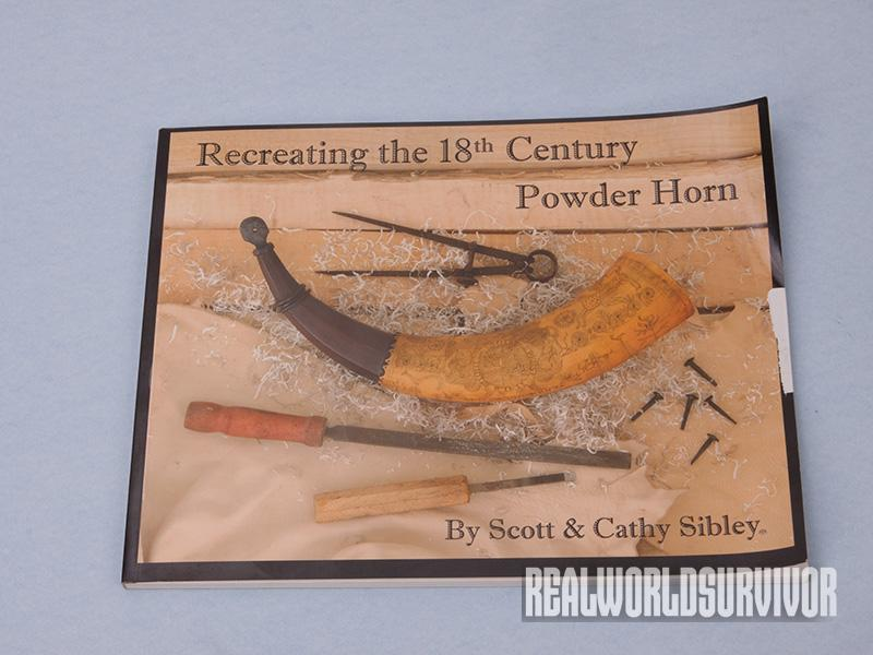 The author says this book offers clear explanations for building your own powder horn.