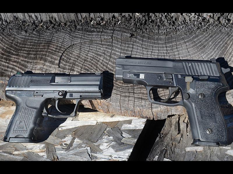Firearms Prepper Arsenal handguns