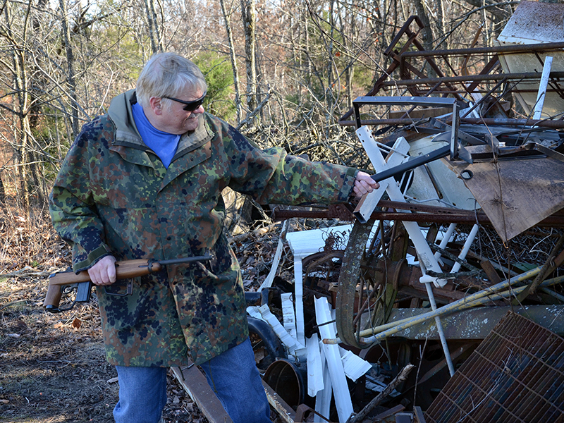 Firearms Prepper Arsenal scavenge