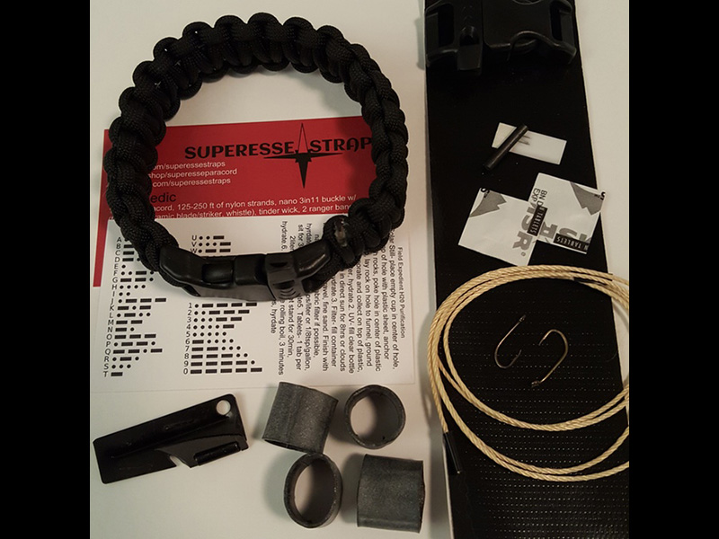 The Scout Pro Survival Kit Strap