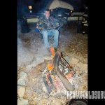 The smell from camp fires can also help mask a hunter's scent.