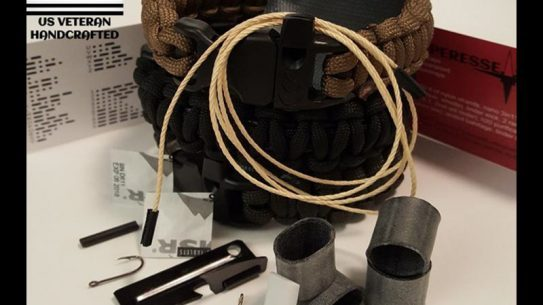 The Scout Survival Kit Strap offers many different survival supplies.