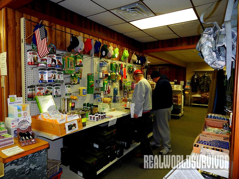 Start prepping by shopping at survival stores.