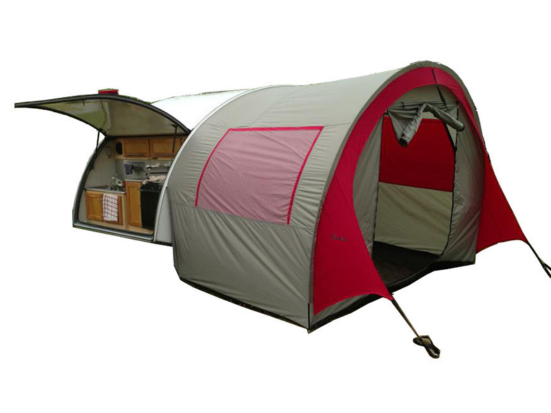 Teardrop Trailer Tent  sc 1 st  Real World Survivor & Tents Awnings from PahaQue Custom Increase Living Space of ...