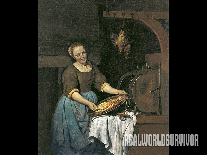 The first reflector ovens were made hundreds of years ago.
