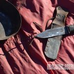 Find old carbon steel knives at flea markets