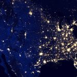 power outage, power outages, electricity, electrical grid, blackout, black out, electricity map, electromagnetic pulse, disaster, disasters, nasa map