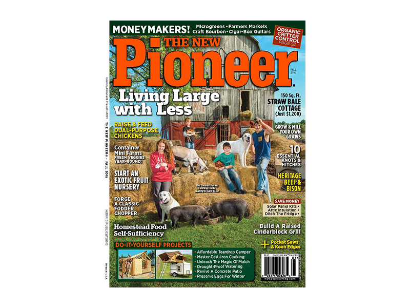 New Pioneer Fall 2015