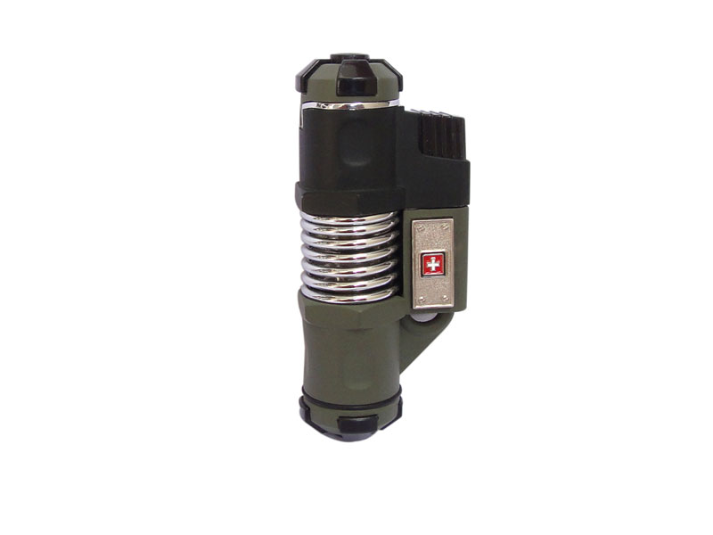 Swiss Military Windproof Jet Flame Lighter, swiss military, swiss military lighter