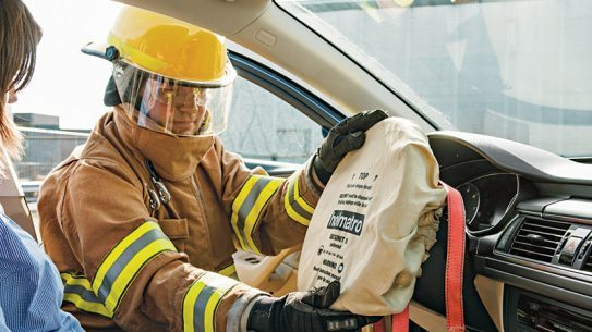 Airbags can save lives, but can also pose a danger.