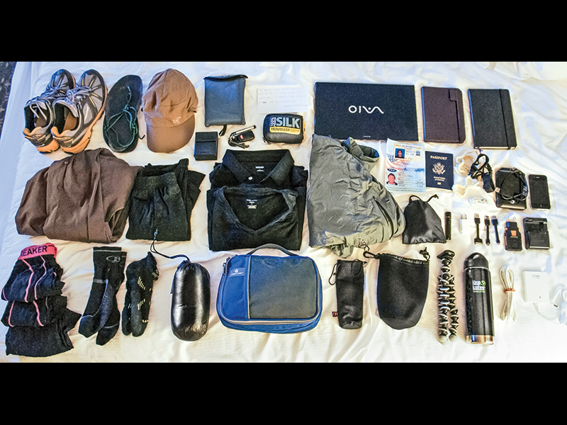 Make sure to organize the items in your bug-out bag.