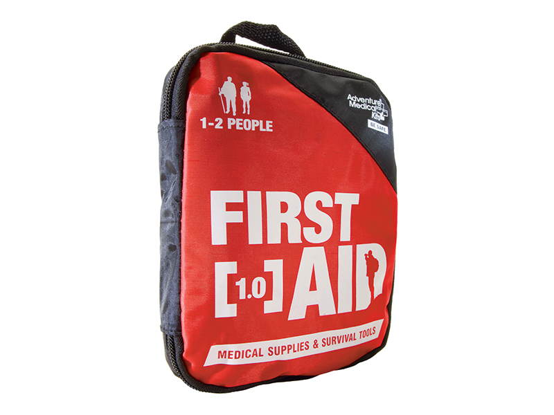 Pack a first-aid kit in your bug-out bag.