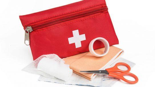 Prep for a medical emergency.