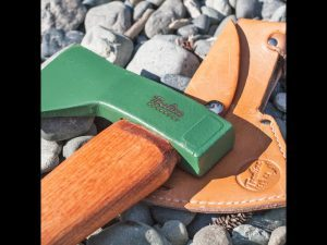 The Hudson Bay Axe is lightweight.