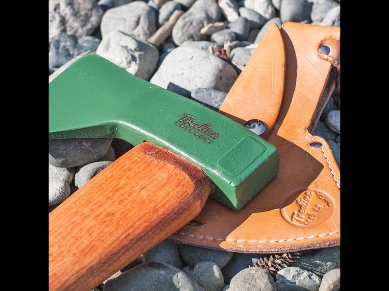 The Hudson Bay Axe is lightweight.