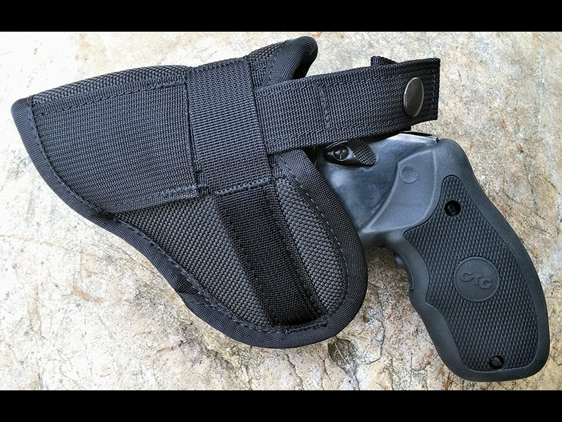 Crossfire's The Stealth Revolver Holster would be a great investment for any mountain man.