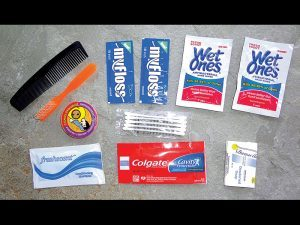 It's vital to have a hygiene kit in your bug-out bag.