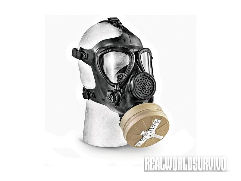 Israeli M-15 Military Gen 11 NBC Gas Mask