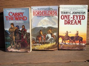Terry C. Johnston Trilogy books are prefect pioneer books