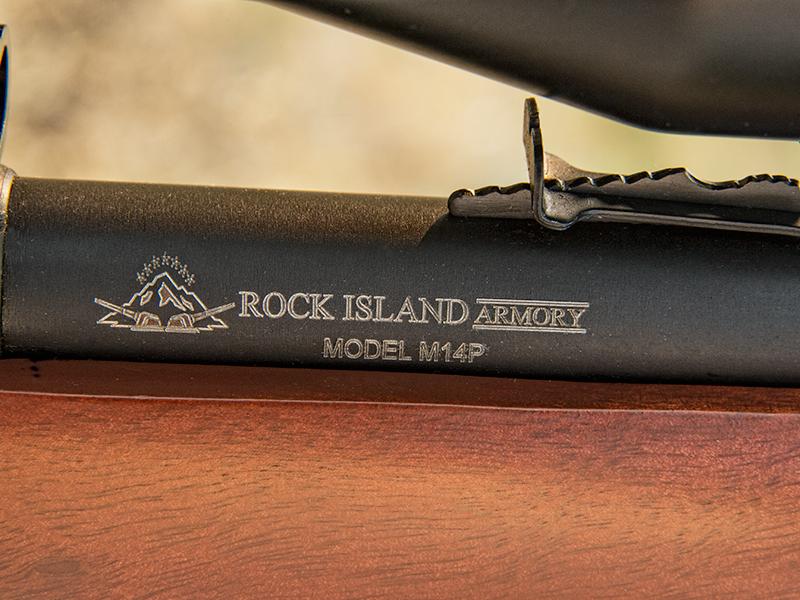 Armscor M1400TS Rimfire rifle logo