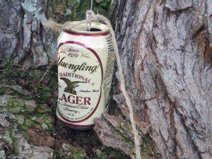 Beer Can perimeter alarm
