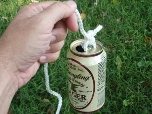 Beer Can Fishing float