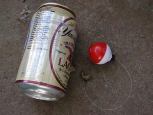 Beer Can Fishing reel