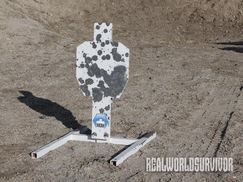 MGM IPSC Silhouette Auto Reset Target.
