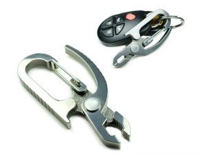 Screwpop pliers can clip on your keys.