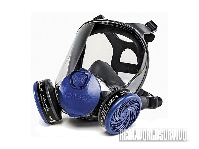 Moldex 9000 gas mask