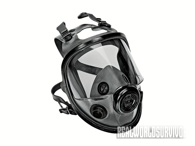 North 5400 gas mask
