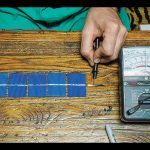 Lofty Energy Solar Panel voltmeter