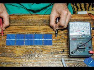 Lofty Energy Solar Panel voltmeter